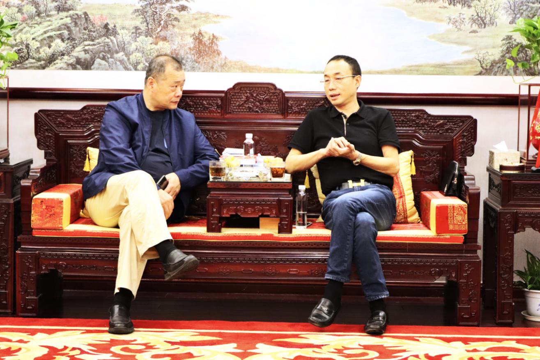 中国乐动体育app下载ldsport协会副会长兼秘书长杨存成来我司考察调研